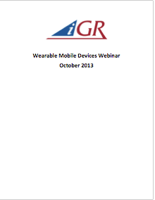 Recording of Mobile Wearable Devices Webinarpreview image