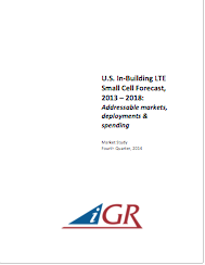 U.S. In-Building LTE Small Cell Forecast, 2013-2018: Addressable markets, deployments and spendingpreview image