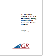 U.S. DAS Market Forecast, 2014-2019: Installations, Tenancy and Spending for Commercial Buildings and MDUspreview image