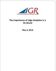 Recording of The Importance of Edge Analytics in a 5G World Webinarpreview image