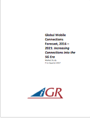 Global Mobile Connections Forecast, 2016-2021: Increasing Connections into the 5G Erapreview image