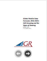 Global Mobile Data Forecast, 2016-2021: Still Growing and No Signs of Slowingpreview image