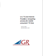 U.S. TV and Internet Providers: Competing services for mobile consumers' TV timepreview image