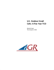 U.S. Outdoor Small Cells:  A Five Year TCOpreview image