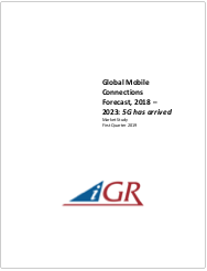 Global Mobile Connections Forecast, 2018-2023: 5G has arrivedpreview image