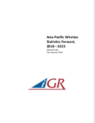 Asia Pacific Wireless Statistics Forecast, 2018-2023preview image
