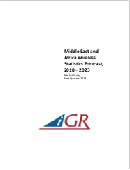 Middle East and Africa Wireless Statistics Forecast, 2018-2023preview image