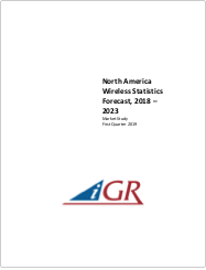 North America Wireless Statistics Forecast, 2018-2023preview image