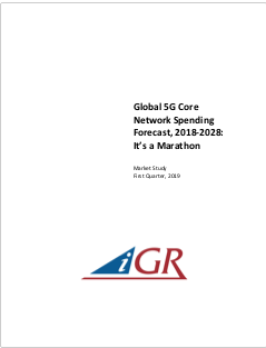 Global 5G Core Network Spending Forecast, 2018-2028: It's a Marathonpreview image