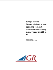Europe Mobile Network Infrastructure Spending Forecast, 2018-2028: The start of a long road from LTE to 5Gpreview image