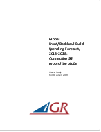 Global Front/Backhaul Build Spending Forecast, 2018-2028: Connecting 5G around the globepreview image