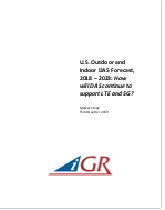 U.S. Outdoor and Indoor DAS Forecast, 2018-2023: How will DAS continue to support LTE and 5G?preview image