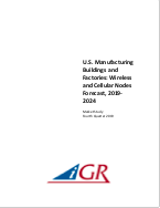 U.S. Manufacturing Buildings and Factories: Wireless and Cellular Nodes Forecastpreview image