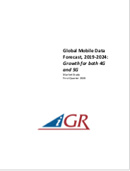 Global Mobile Data Forecast, 2019-2024: Growth for both 4G and 5Gpreview image