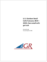 U.S. Outdoor Small Cells Forecast, 2019-2025: Even small cells get sickpreview image