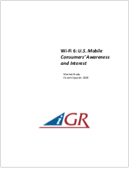 Wi-Fi 6: U.S. Mobile Consumers' Awareness and Interestpreview image