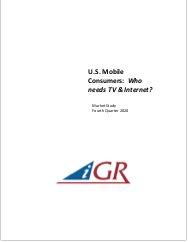 U.S. Mobile Consumers: Who needs TV & Internet?preview image