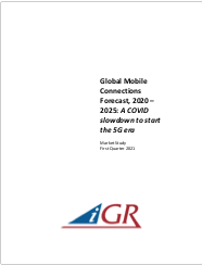 Global Mobile Connections Forecast, 2020-2025: A COVID slowdown to start the 5G erapreview image