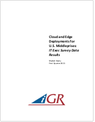 Cloud and Edge Deployments for U.S. Middleprises: IT Exec Survey Data Resultspreview image