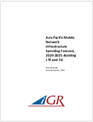 Asia Pacific Mobile Network Infrastructure Spending Forecast, 2020-2025: Building LTE and 5Gpreview image